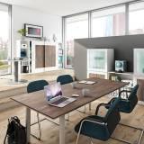 Röhr Objekt.Plus   Konferenztisch mit Rechteckplatte 220x100cm - Type 298