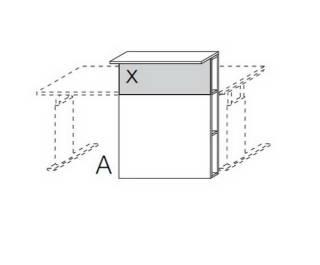 Röhr Objekt.Plus | Counter-Empfangstresen mit Mittelwand
