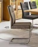Niehoff Sitzmöbel | Komfort-Schwingstuhl - Stoff Aberdeen anthrazit oder stone
