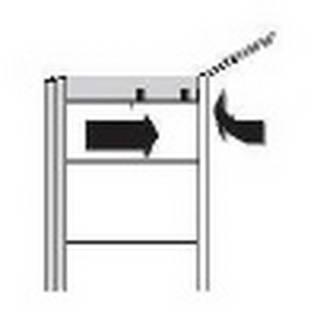 Röhr Techno | Türdämpfer-Set (3 Stück) mit Selbsteinzug inkl. Mitteldämpfer für Schwebetüren