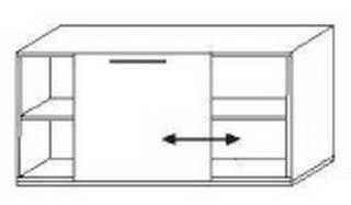 Röhr Objekt.Plus | Sideboard mit Schiebefront - 160 cm breit