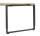 Röhr Objekt.Pur | Schreibtisch mit Freiformplatte Eiche Massivholz inkl. Kufenfußgestell - 200,0 x 68-82,0 x 80/88,5 cm