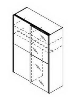 H60 - ohne Spiegeltür