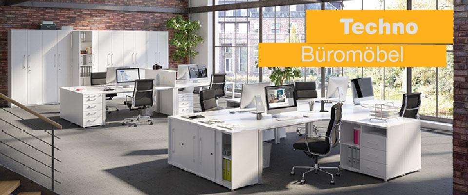 Büromöbel Techno von Röhr Möbel