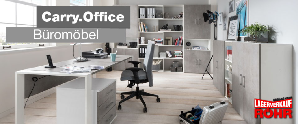 Büromöbel Carry Office von Röhr Möbel
