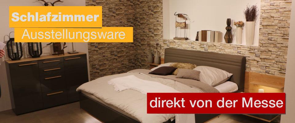 Schlafzimmer Wiemann Ausstellungsstücke