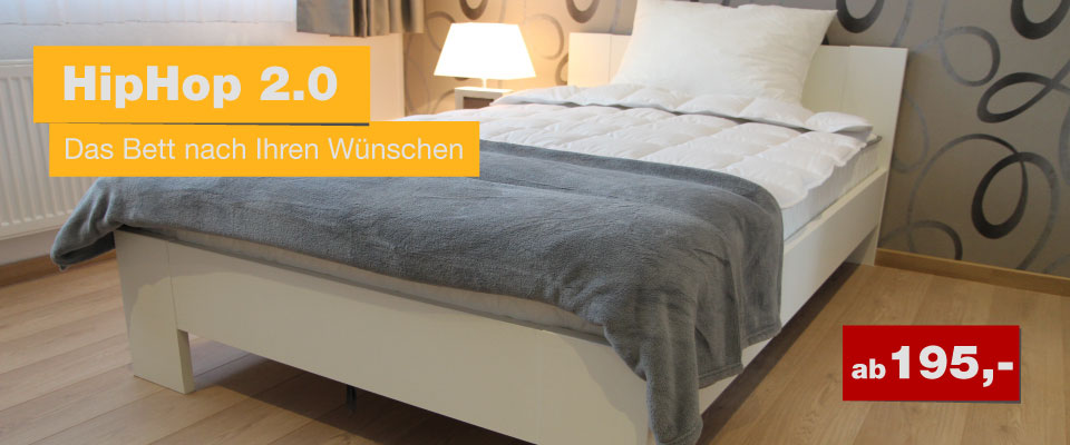 Das Bett nach Ihren W�nschen