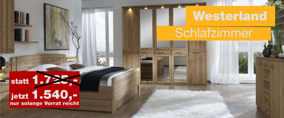 Schlafzimmer Westerland von Wiemann